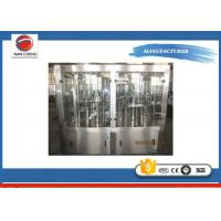 Quality Carbonated Soda Filling Machine Filling Line 5.6KW , High Accuracy Beverage Bottling Equipment for sale