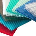 Soundproof Heat Insulation Light Weight Polycarbonate Hollow Sheet 4mm-30mm