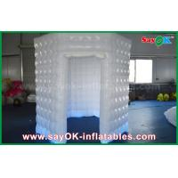 Buy PVC Coated Inflatable Octagon Mobile Photo Booth Tent With LED Lighting at wholesale prices
