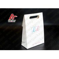 Quality Custom Unique Design  Printed Commercial Shopping Die Cut Candy Paper Bag for sale