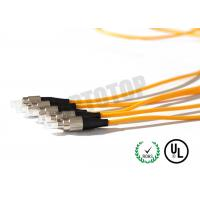 Quality 5m Simplex Fiber Optic Patch Cord Pvc Jacket Low Excess Loss , Corning G657A for sale