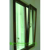 Quality German Hardware Tilt & Turn Wood Aluminum Window For Villas for sale
