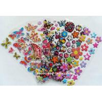Quality Cute Animal Custom Puffy Stickers Customized Thickness For Wall Decoration for sale