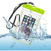 Quality Water-Resistant Phone Pouch Water-Tight Dry Bag for Cell Phone with Dule-Sides Transparent Windows for sale
