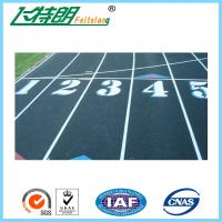 Quality 13mm Mixed Running Track Surfaces Recycled Granules Athletic Runway Surface for sale