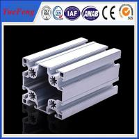 Quality Matt Silver Industrial custom aluminum extrusion supplier(ISO manufacturer) for sale