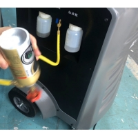Quality Vehicle Repair Bottle R134a Air Conditioning Recovery Machine for sale