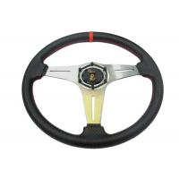 Quality Security Race Car Steering Wheel With Environmental Protection Material for sale