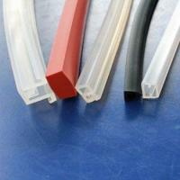 Quality Extruded Silicone Rubber Profiles for sale