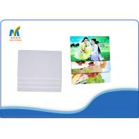 Quality Custom Plastic Business Cards Inkjet Print PVC White Blank 85.5*54*0.76 Mm for sale