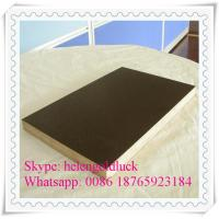 Quality 6-8 Reuse Times Anti-slip 15mm Brown Film Faced Plywood for Construction for sale