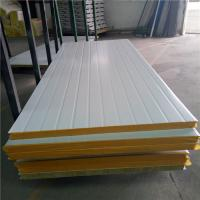 China 50mm rockwool uae fireproof sandwich panels with 0.376mm for prefab buildings on sale
