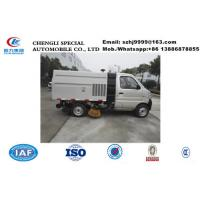 China 2020s bottom price mini gasoline Chang'an street sweeper vehicle for sale, HOT SALE!China-made road sweeping truck for sale