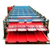 Quality Double Layer Wall Panel Roll Forming Machine Automatic High Speed have PLC control for sale