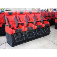 Quality Profession 4D Movie Theater With Feet Tickle / Vibration / Push Back for sale