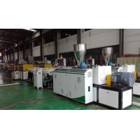 China High Efficiency Plastic Tubing Extrusion Machines ABB Frequency Controller on sale