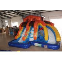 Quality Inflatable Splash Island Water Slide for sale