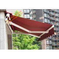 Quality Aluminum Customized Sizes Retractable Electric  Patio Awnings for Outdoor Balcony and Villa for sale
