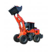 Quality Customized Mini Front End Loader / 1.6 Ton Front Bucket Loader For Highway for sale