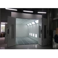 China Heat Recuperation Spray Paint Booth Systems , Spray Bake Paint Chamber CE TUV Certification on sale