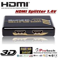 full 3D 1x2 port HDMI Splitter 4kx2k HDMI 1.4V  4PET0102 for sale