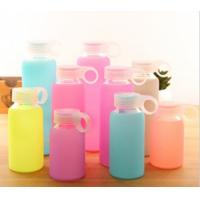 Quality Food Grade Silicone Bottle Sleeve High Temp Tolerance For Glass Ceramic Bottle for sale