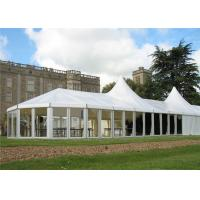Water Resistant Big Aluminum Mixed Shape Glass Wall Canopy Winter Use Windproof  Tent for sale
