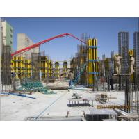 Quality Square / Rectangle Concrete Column Formwork With Adjustable Ability for sale