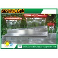 Quality Garden Water Fountain Equipment Waterfall Blade With Remote Controller 1500mm Length for sale