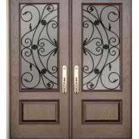Quality wrought iron glass made in China for sale