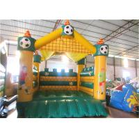 Quality Football Kids Inflatable Bounce House Castle Digital Printing 4 X 4m For Amusement Park for sale