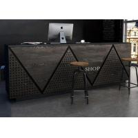 Contemporary Retail Checkout Counter For Cash Register Customized Logo / Color for sale