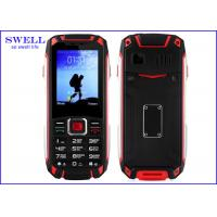 China GSM Quad Band Military Waterproof Rugged Cell Phone With Walkie Talkie on sale