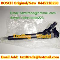 Quality BOSCH Original Injector 0445110250 for MAZDA 2.5D WLAA-13-H50 /WLAA13H50 for sale