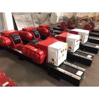 Quality Hand Control Box 10 T / 15 T Pipe Turning Rollers Conventional Bolt Adjustment for sale