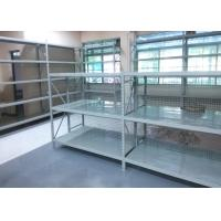 Quality Steel Plate Workshop Medium Duty Racking For Supermart 2000H* 600D* 2000L for sale