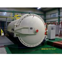 Quality Steam Brick Industrial Autoclave Pressure Φ3m For Glass Deep - Processing for sale