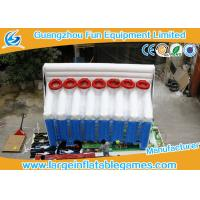 Quality Basketball Inflatable Sport Games , Inflatable Shooting Score 6mL*2.5mW*4mH for sale