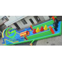 Quality Hot selling Wipeout  inflatable obstacle course  with 24months warranty GT-OBS-0523 for sale