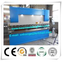 China NC Hydraulic Press Brake And Bending Machine 80T , Metal Sheet Brake Press Machine on sale