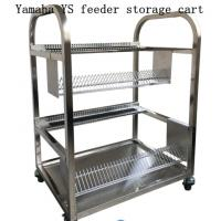 China Aluminium Alloy Esd Magazine Rack Storage Smt Trolley For Feeder on sale