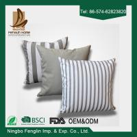 Quality Home Indoor Decorative Modern Linen Canvas Sofa Throw Pillow Cushion Covers 43x43cm for sale