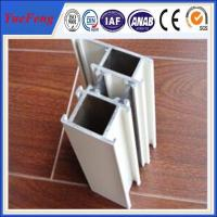 Quality Silver anodized aluminium profiles fabricate windows&doors for sale