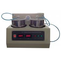China High Accuracy Specific Gravity Testing Equipment / Specific Gravity Test Apparatus on sale