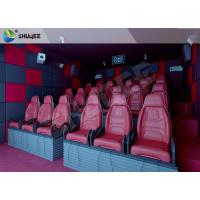 Quality Hydraulic 5D HD Movie Theater With 55 inch displayer / 6 seats for sale