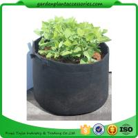 Quality Charcoal Durable Fabric Grow Pots , Perfect Heavy Harvest Planter Raised Bed for sale