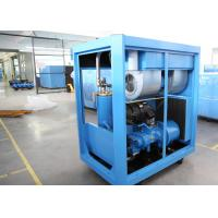 China Industrial VFD Air Compressor , Lubricated Rotary Screw Compressor PM Motor 30HP 22kW on sale