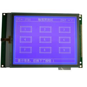 "5.7"" Graphic LCD Display Module , Industrial Control Equipment Dot Matrix LCD Module"