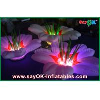 Buy cheap Flower Shaped Inflatable Lighting Decoration , Wedding Inflatable LED Light from wholesalers