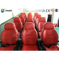 Buy 6 Dof Mobile Theater Chair , 4d Cinema Custom Motion Control System at wholesale prices